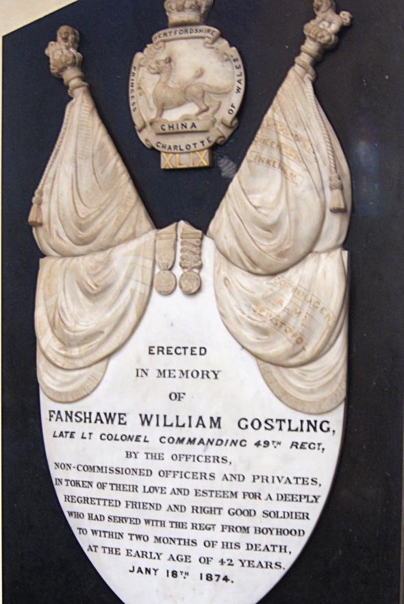 Fanshawe William Gostling