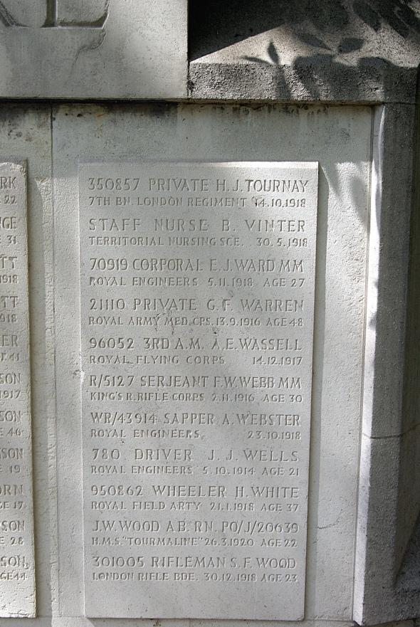 Wheeler H. White, Old Compton