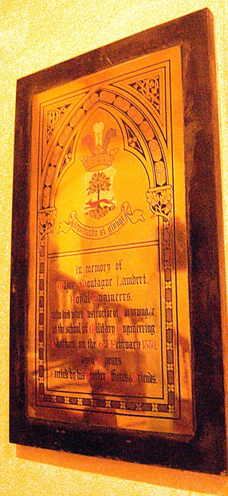Major Montague Lambert