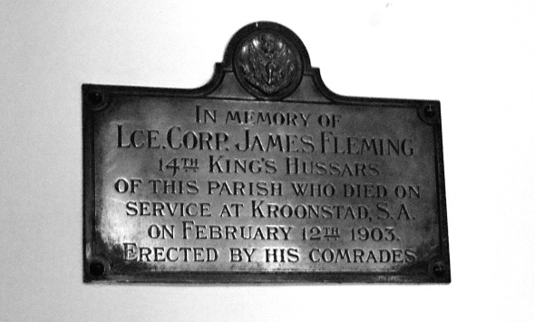 Lance Corporal James Fleming