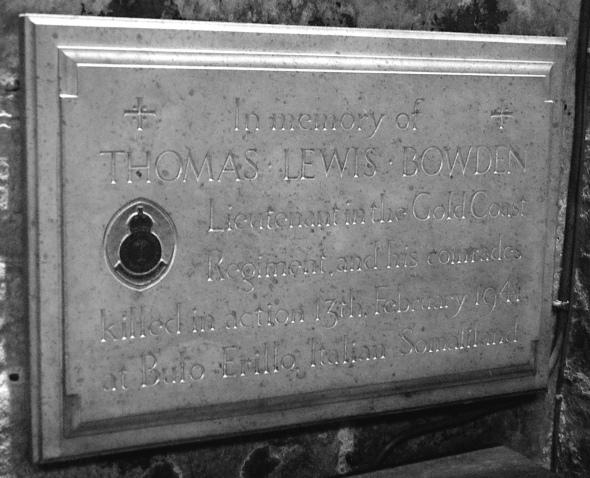 Thomas Lewis Bowden