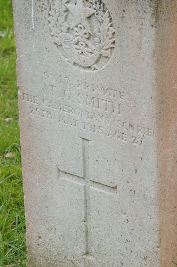 Private T G Smith